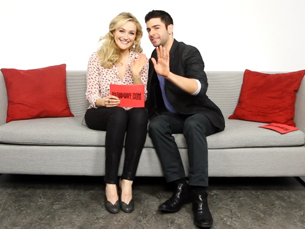 The Last Five Years' Betsy Wolfe & Adam Kantor Talk Fast Friendship, Rent's Final Bow and Tea with Maggie Smith
