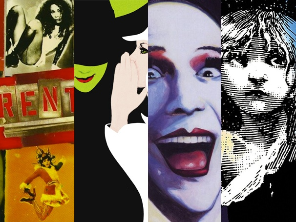March Musical Madness, Round Five: Rent vs. Wicked & Les Miz vs. Cabaret in the Final Four