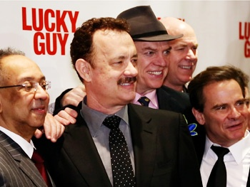 Tom Hanks and the Cast of Lucky Guy Make Headlines and Honor Nora Ephron on Opening Night 