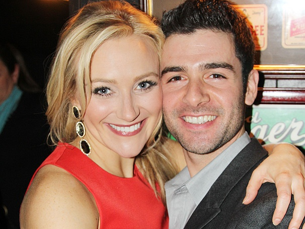 Betsy Wolfe & Adam Kantor Bask in the Love on Opening Night of The Last Five Years