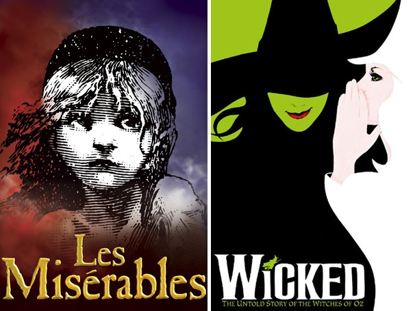 March Musical Madness, Final Round: Les Miserables vs. Wicked in the Championship!