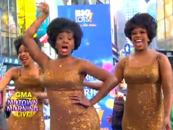 Watch the Cast of Motown the Musical Offer a Groovin' Preview of Their Smooth Moves