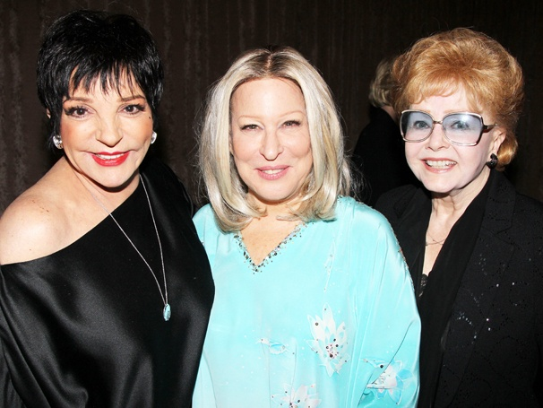 Exclusive! Liza Minnelli & Debbie Reynolds Go Backstage for Bette Midler's First Night In I'll Eat You Last