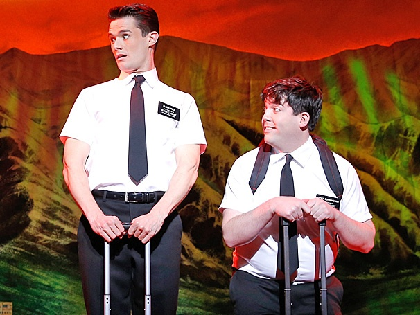 Double Ask A Star! The Book of Mormon National Tour Stars Mark Evans & Christopher John O'Neill Are Taking Your Questions