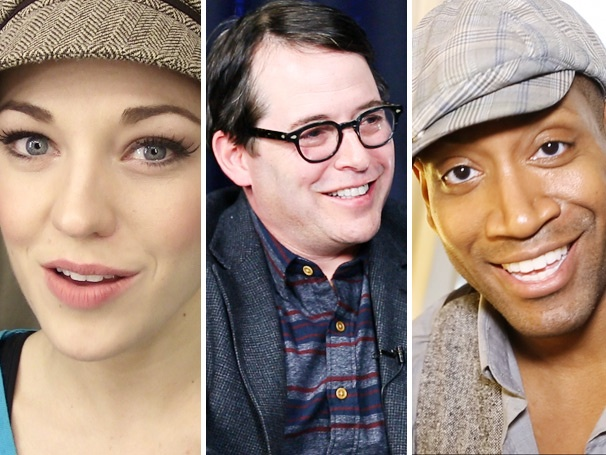 Top Five! Hot Videos Reveal Laura Osnes Day Job, Matthew Brodericks First Stage Role & Motown Must-Haves