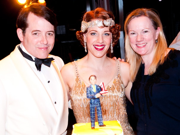 A Year of Nice Work! Matthew Broderick, Jessie Mueller & the Cast Celebrate the Musical's First Anniversary