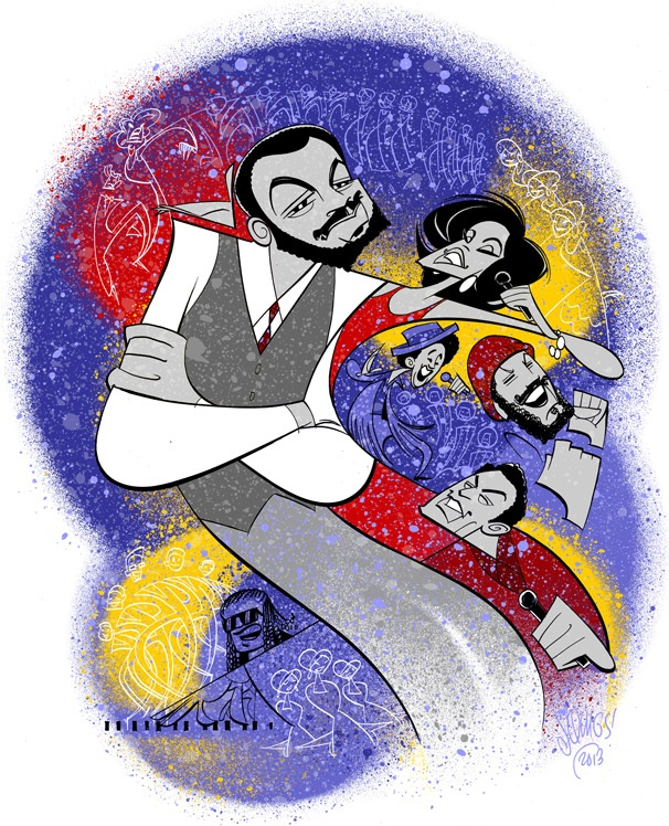 Squigs! In the Name Of Love! Broadway.com's Resident Artist Brings the Colorful World of Motown: The Musical to Life