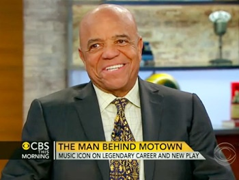 Berry Gordy Talks the Making of Motown: The Musical on CBS This Morning