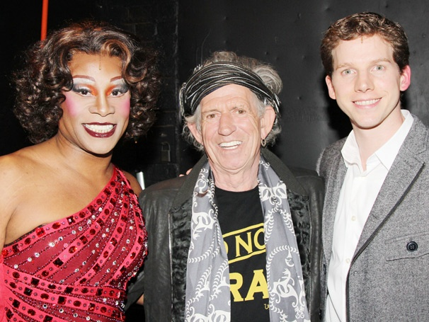 Rock God Keith Richards and Today's Kathie Lee & Hoda Kick It with the Stars of Kinky Boots