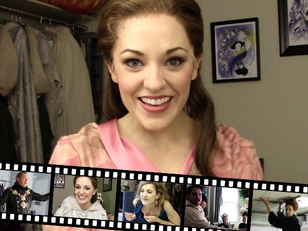 The Princess Diary: Backstage at Cinderella with Laura Osnes, Episode 7: A Very Revealing Look at Dressing Room Life