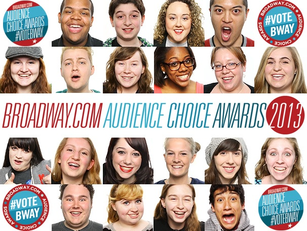 Watch Broadway Fans Announce the 2013 Broadway.com Audience Choice Award Nominations!