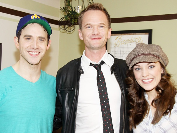 Neil Patrick Harris, Jesse Tyler Ferguson & Rory O'Malley Have a Ball at Cinderella