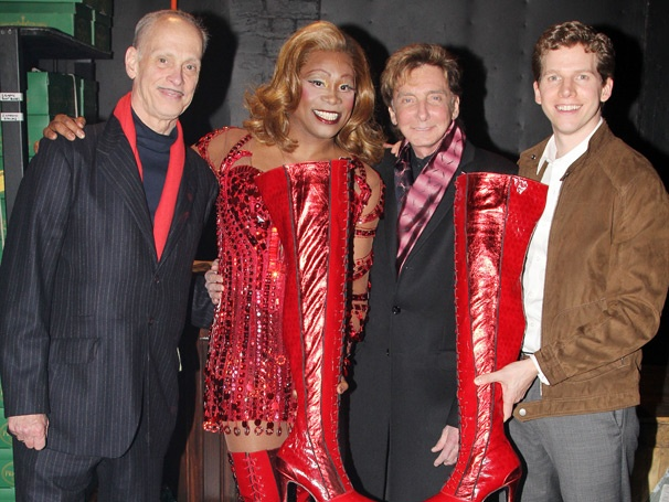 Barry Manilow and John Waters Enjoy a Red-Hot Evening at Kinky Boots