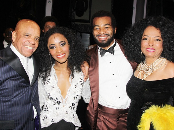Music Legends Galore Get Into the Groove at Motown: The Musical's Broadway Opening Night