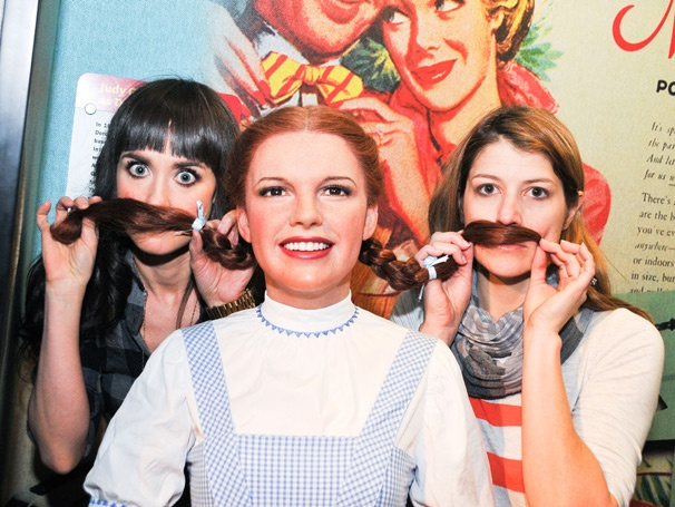 Broadway Besties and Former Wicked Sisters Brynn O'Malley & Nicole Parker Wreak Havoc at Madame Tussauds