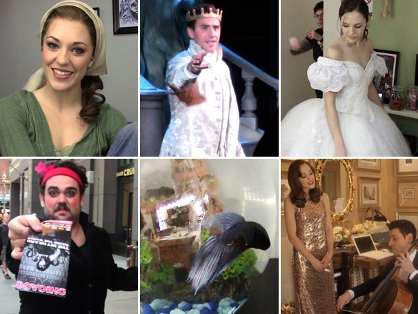 Cinderella's Laura Osnes, Santino Fontana & Herman the Fish Sign on for Season Two of The Princess Diary Video Blog