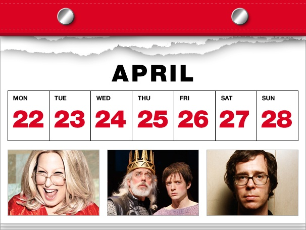 Bette Midler Eats Broadway for Breakfast, Pippin Makes Magic & Ben Folds Goes Theater Geek in This Week's Datebook