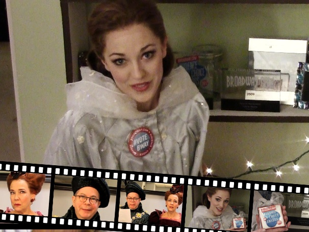The Princess Diary: Backstage at Cinderella with Laura Osnes, Episode 8: Auto Correct Comes to Life