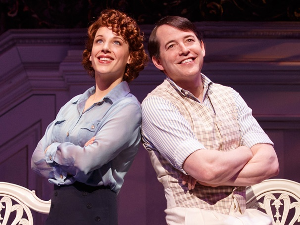 Lady Be Good! Take a First Look at New Nice Work Co-Stars Jessie Mueller & Matthew Broderick