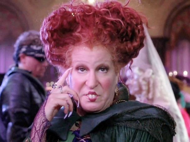 Weekend Poll Top Three: Fans Still Enchanted by Bette Midler's Role in Hocus Pocus