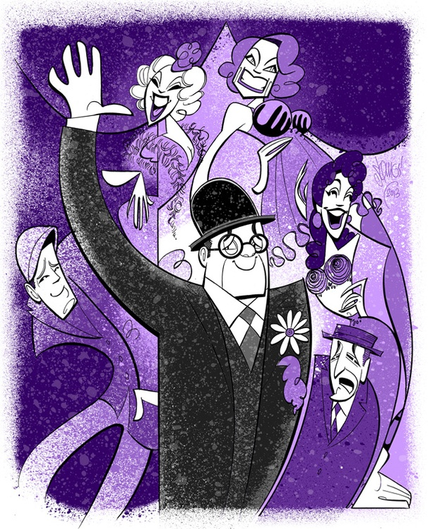 Squigs Goes Burlesque with Nathan Lane and the Cast of Broadways The Nance