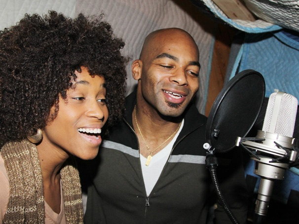 Exclusive Photos! Get Down with the Sound at Motown: The Musical's Cast Album Recording Session