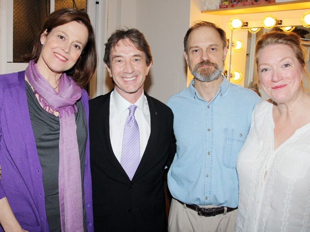 Martin Short Gets Silly With Vanya Stars Sigourney Weaver, David Hyde Pierce & Kristine Nielsen