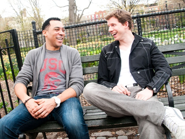 Motown's Charl Brown and Kinky Boots' Stark Sands Look Back on Their College Bromance
