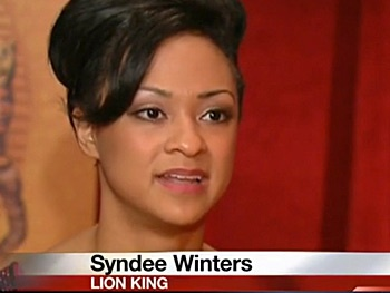 Watch Lion King Tour Star Syndee Winters Describe Her Hunt for the Perfect Appleton Souvenir