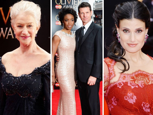 On the Scene at the Olivier Awards With Helen Mirren, Heather Headley, Idina Menzel & More