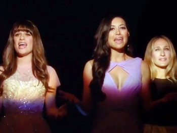 Check Out Lea Michele, Sarah Jessica Parker & More in Glee's Beautiful 'At the Ballet'