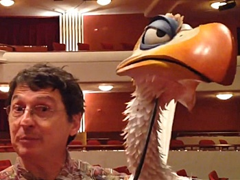Watch The Lion King Tour's Tony Freeman Bring Bossy Horbill Zazu to Life