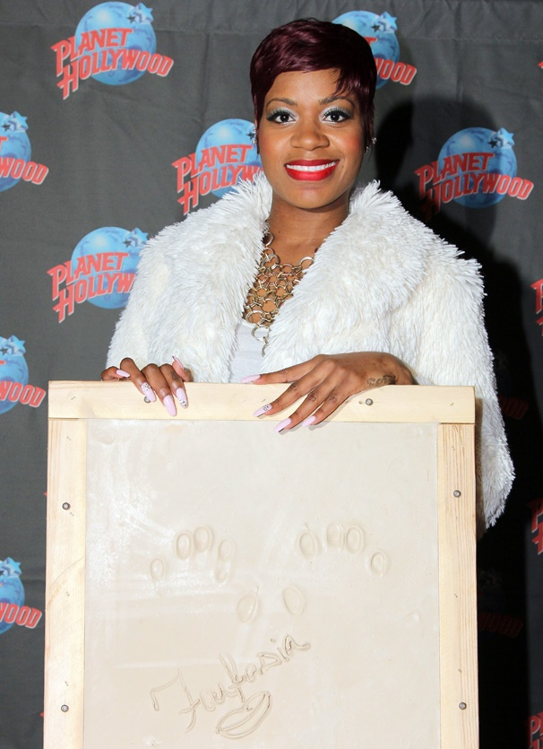 Broadway and American Idol Vet Fantasia Gets a Handprint Ceremony at Planet Hollywood