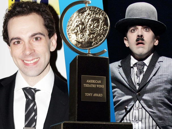 Chaplin Star Rob McClure and His Mom Have the Same Reaction to His Tony Nomination: 'Holy Shit!'