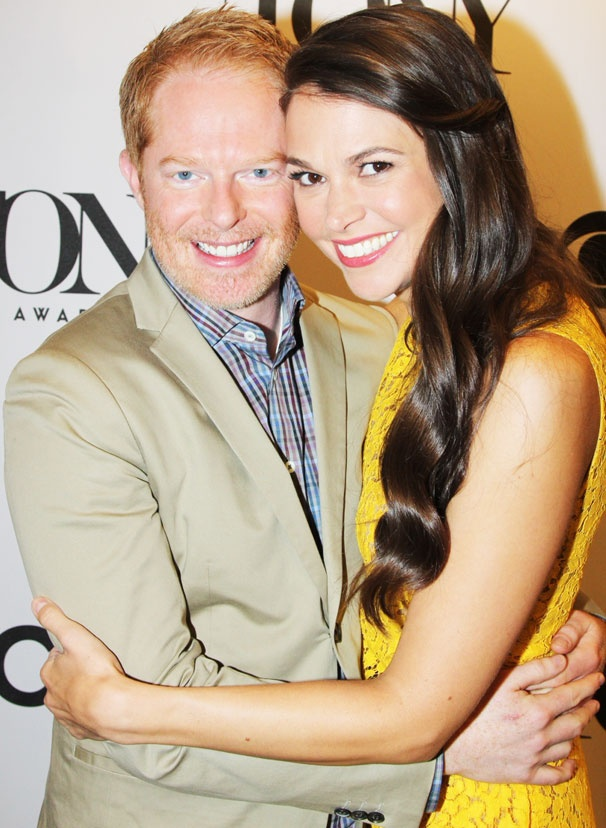 On the Scene With Sutton Foster & Jesse Tyler Ferguson at the Tony Nomination Announcement