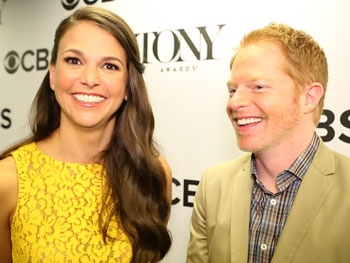 Broadway Faves Sutton Foster and Jesse Tyler Ferguson Offer Advice and Laughs on Tony Nom Morning