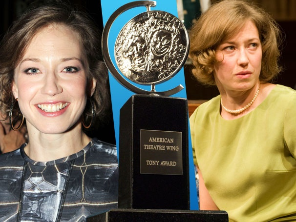 Virginia Woolf Star Carrie Coon Looks to Her Grandma For Fashion Inspiration on Tony Nomination Day