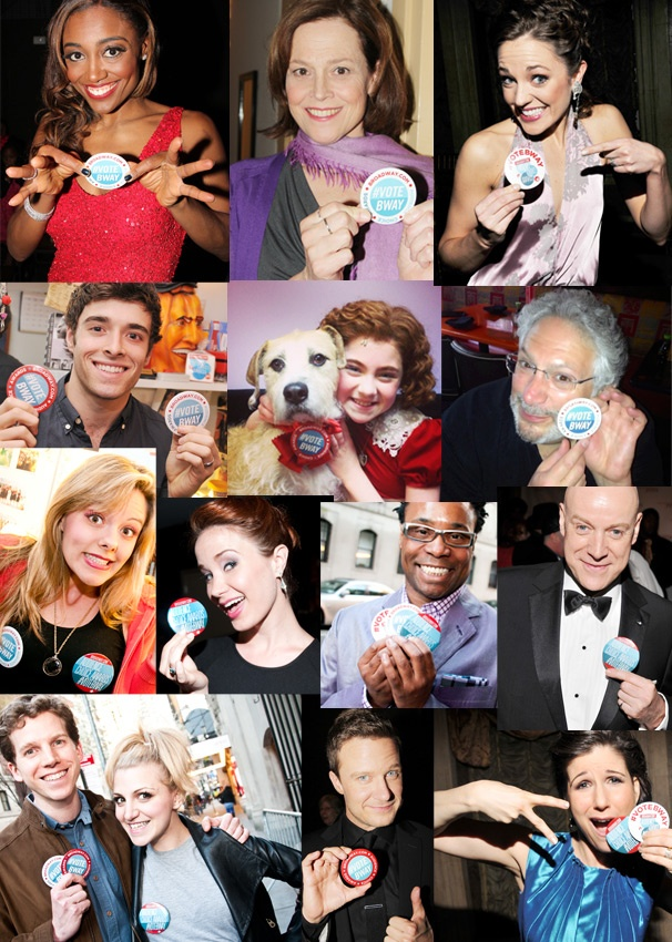 Last Chance to Vote! Audience Choice Awards Nominees Campaign with #VoteBway Buttons