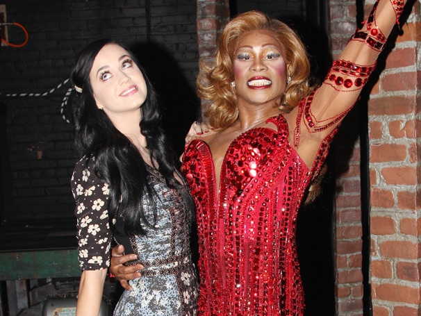 Kinky Boots' Biggest New Fan Katy Perry Brings Fireworks to the Al Hirschfeld Theatre