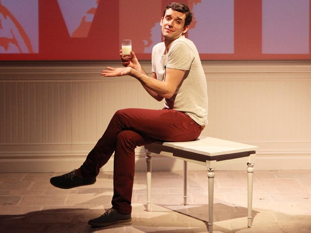 Simply Barbra! Take a Fabulous First Look at Michael Urie in the Streisand-Centric Solo Show Buyer & Cellar