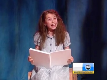 Watch the 'Revolting Children' of Broadway's Matilda Get a Little Bit 'Naughty' on Good Morning America