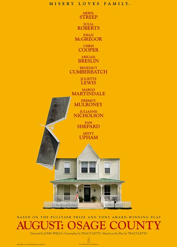 August: Osage County's New Movie Poster Blows the Roof Off the Weston Family