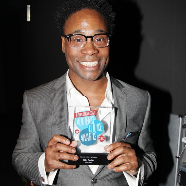 Kinky Boots' Billy Porter on His 'Amaaaazing' Audience Choice Award Win for Favorite Actor in a Musical