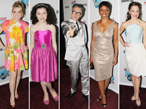 Fashion Stars! Who Rocked the Red Carpet at the 2013 Broadway.com Audience Choice Awards?