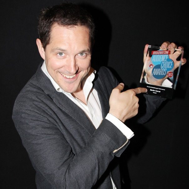 Matilda Star Bertie Carvel Is 'Very Moved' by His Broadway.com Audience Choice Award Win