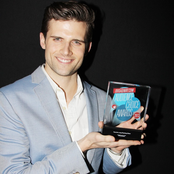 It's Good to Be Green! Kyle Dean Massey Sounds Off On Wicked's Audience Choice Award for Long-Running Musical