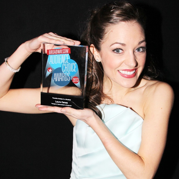 Cinderella Star Laura Osnes Is 'Beyond Thrilled' for Her Double BACA Win