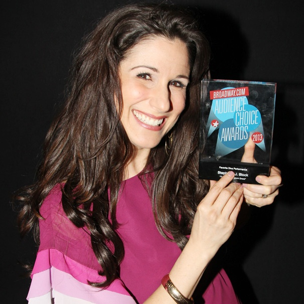 Edwin Drood's Stephanie J. Block Dedicates Her BACA Win to Her Fans: 'The Blockheads Aren't Kidding Around!'