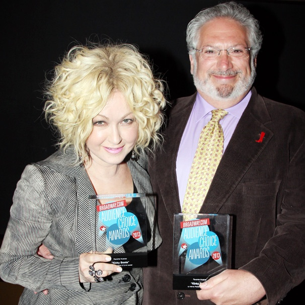 Kinky Boots' Cyndi Lauper & Harvey Fierstein on Their BACA-Winning New Musical: 'You Gotta Listen to the Voice of the People'