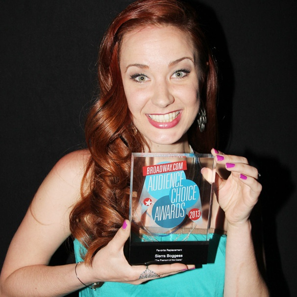 Phantom Star Sierra Boggess Is 'Freaking Out' Over Her Broadway.com Audience Choice Award